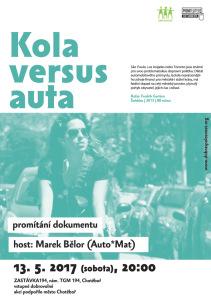 Kola versus auta_plakat web